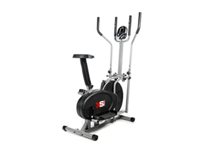 XS Sports Luna Pro 2-in1 Elliptical Cross Trainer-Best Device for Cardio Workout
