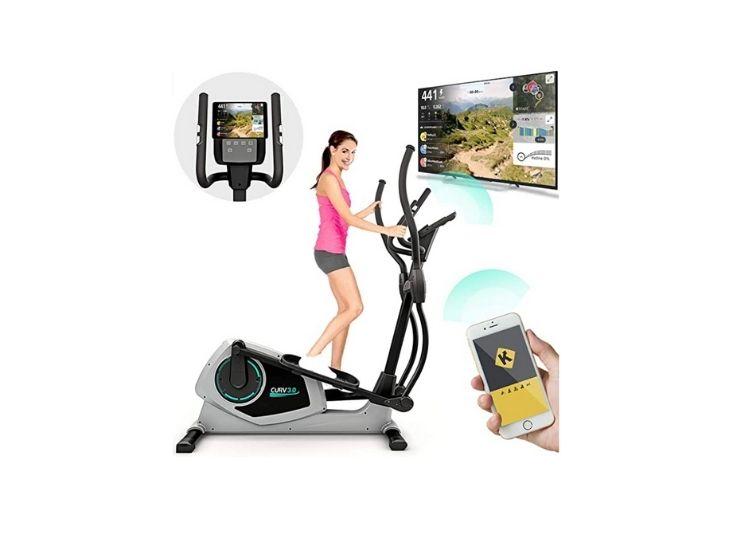 Bluefin Fitness CURV 3.0 Elliptical Cross Trainer-Best Home Gym Trainer