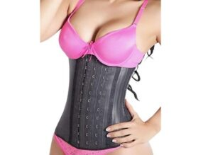 NuvoFit Lady Slim Fajas Colombianas Reductoras Y Moldeadoras para Mujer Latex Waist Trainer Chincher.