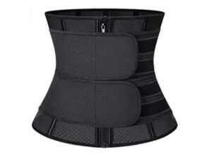 KIWI RATA Women Latex Workout Waist Trainer