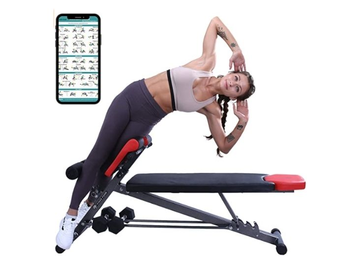 Finer Form Multi-Functional Weight Bench for Full All-in-One Body Workout