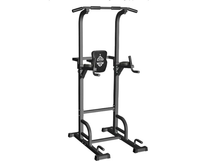 Sportsroyals Power Tower Dip Station Pull Up Bar for Home Gym