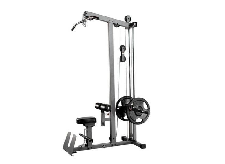 XMark Heavy Duty Lat Pulldown and Low Row Cable Machine