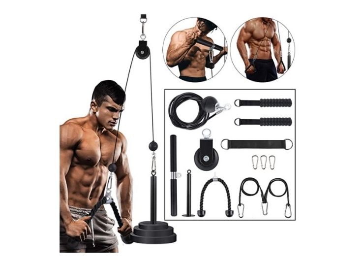 Linglong Fitness LAT and Lift Pulley System