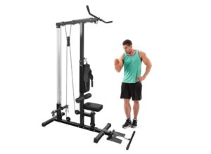 Merax Lat Pulldown and Low Row Cable