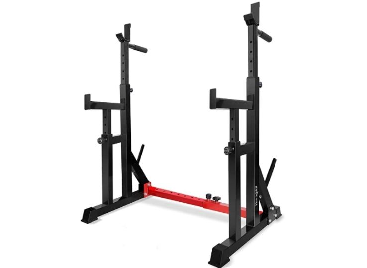 Yes4All Adjustable Barbell Squat Rack