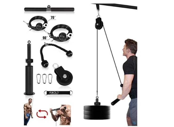Mikolo Fitness Dual Cable Machine