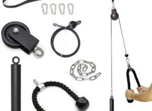 SYL Fitness Home Gym Cable Machine