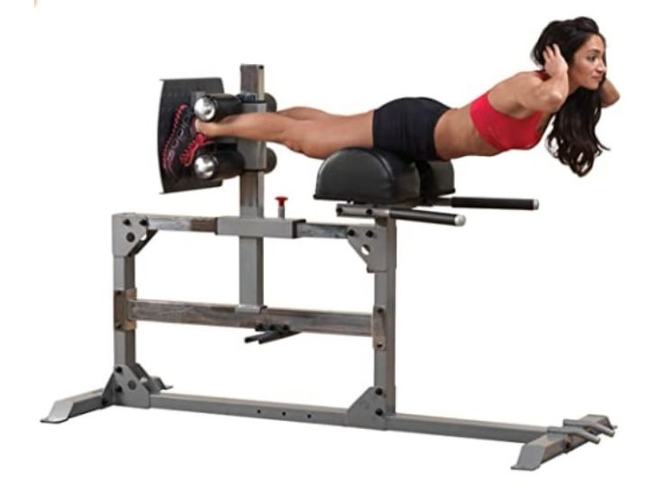 BODY-SOLID GLUTE AND HAMSTRING MACHINE