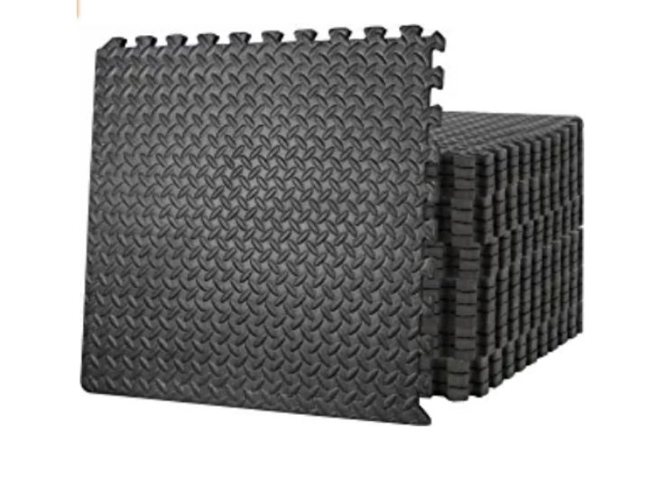 ZENY Yoga and Home Gym Protective Flooring