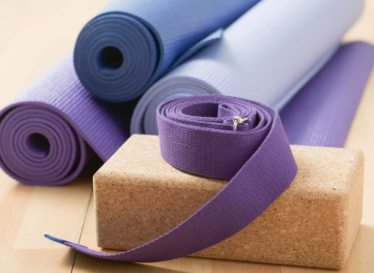 How to use the yoga blocks